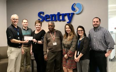 Sentry Insurance Donates to Cafe